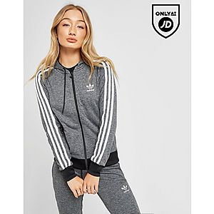 2b93ec39973b adidas Originals 3-Stripes Full Zip Hoodie ...