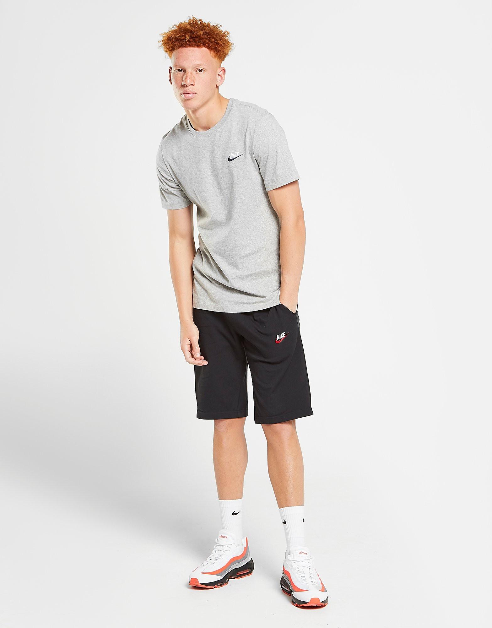 Nike Foundation Jersey Shorts - Only at JD - Noir, Noir