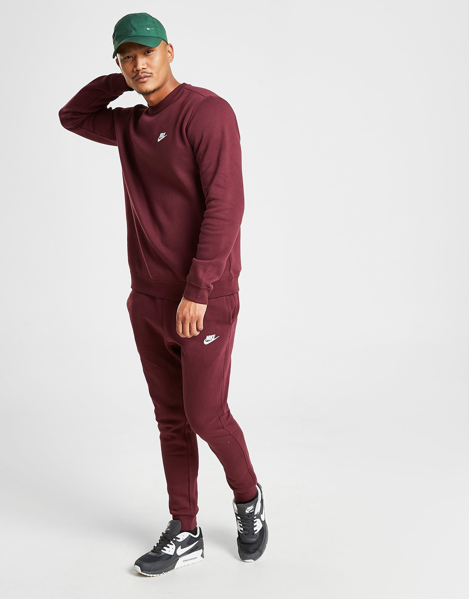 Nike Foundation Fleece Joggers Heren - Rood - Heren