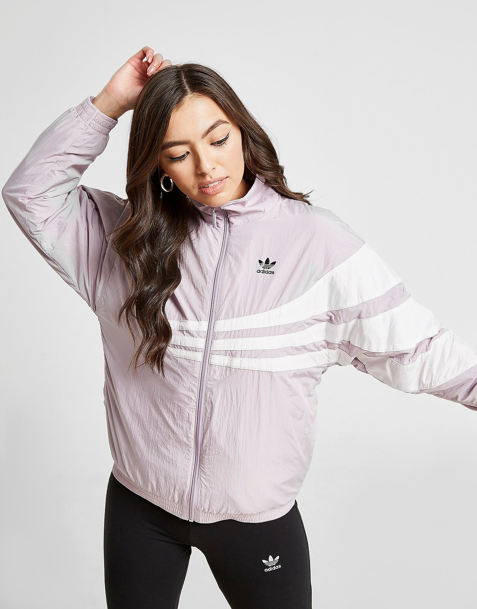 adidas Originals 90s Nylon Track Top - Roze - Dames