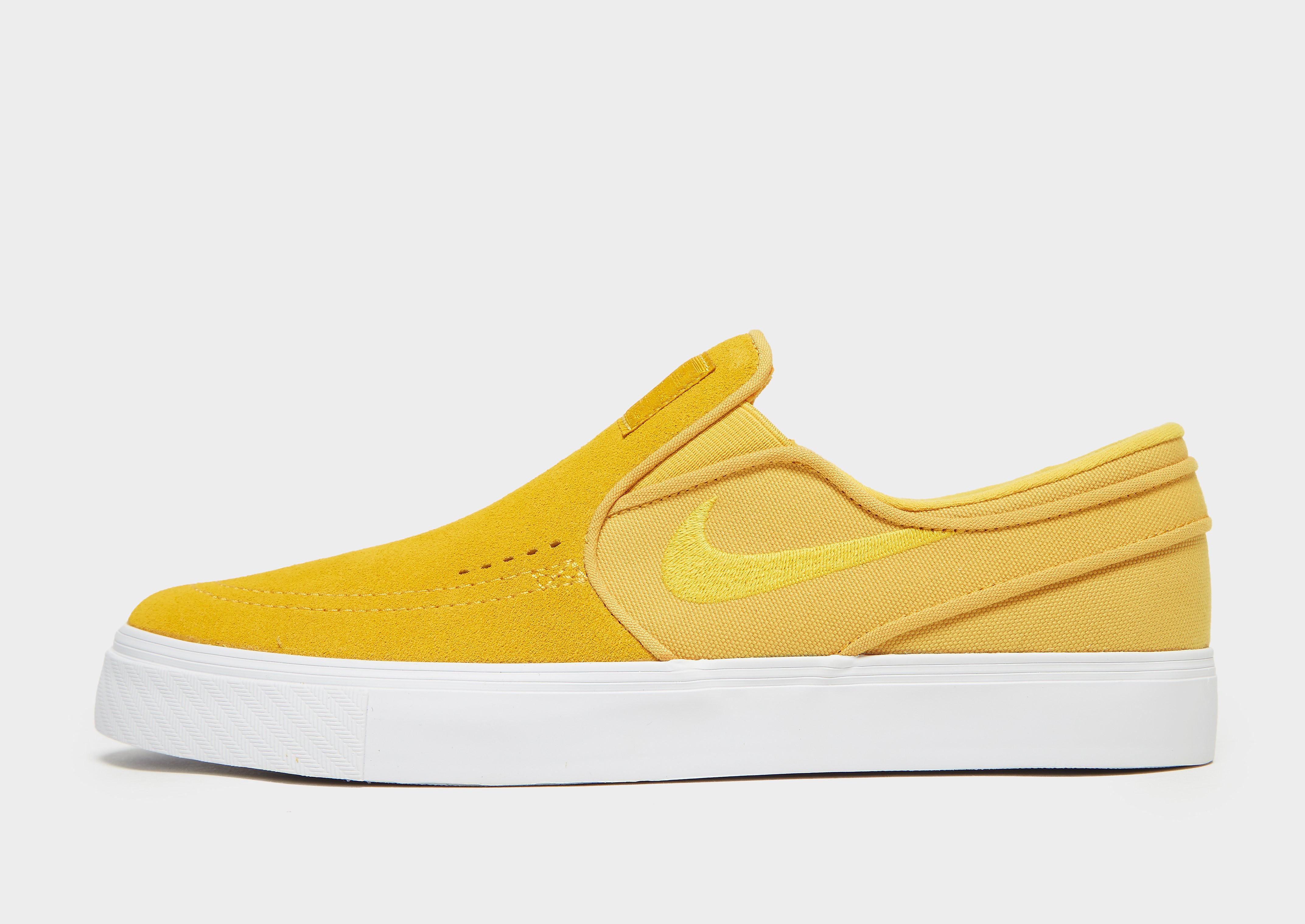 Nike Stefan Janoski herensneaker geel