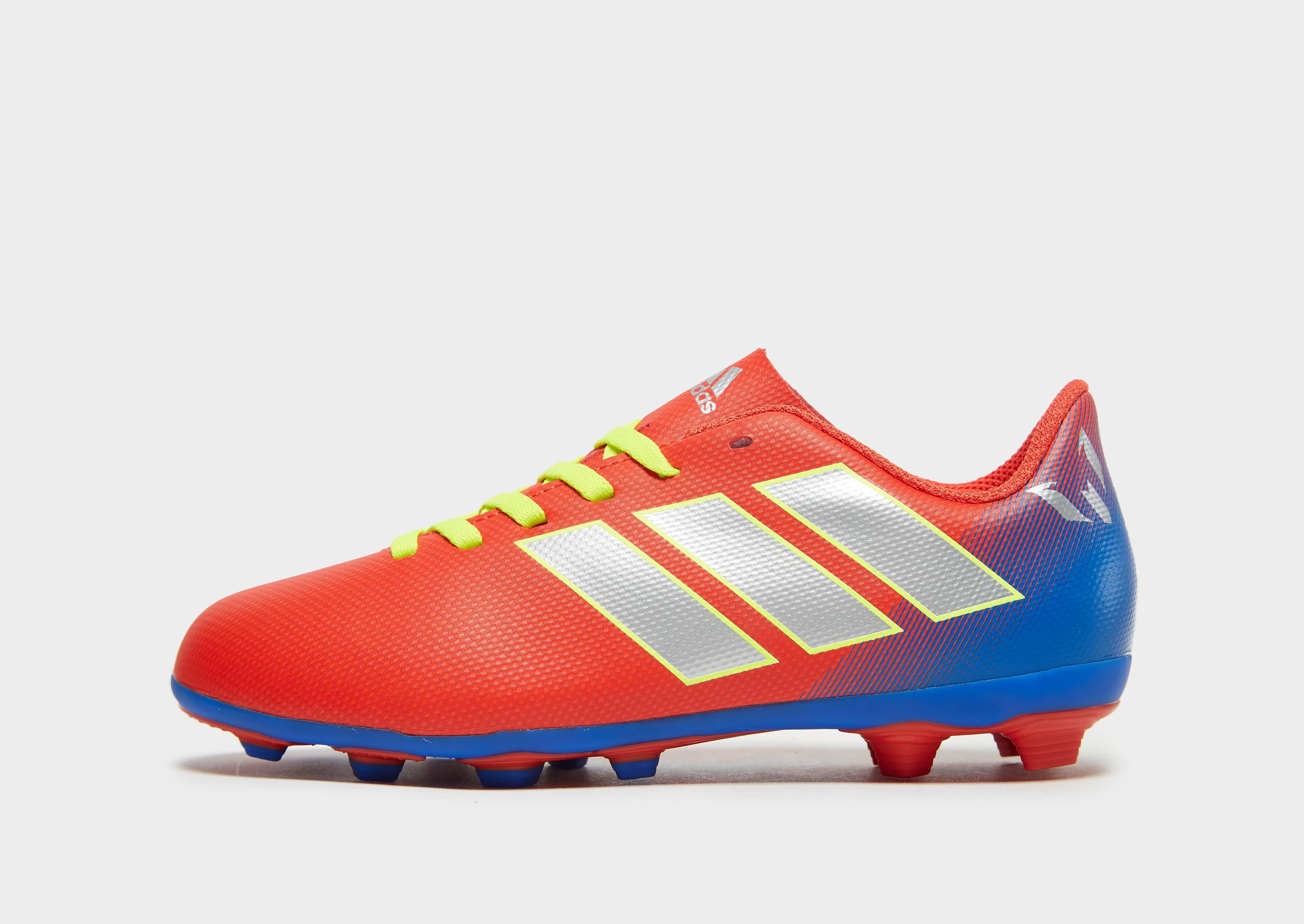 adidas Initiator Nemeziz 18.4 Messi FG Kinderen - Rood - Kind