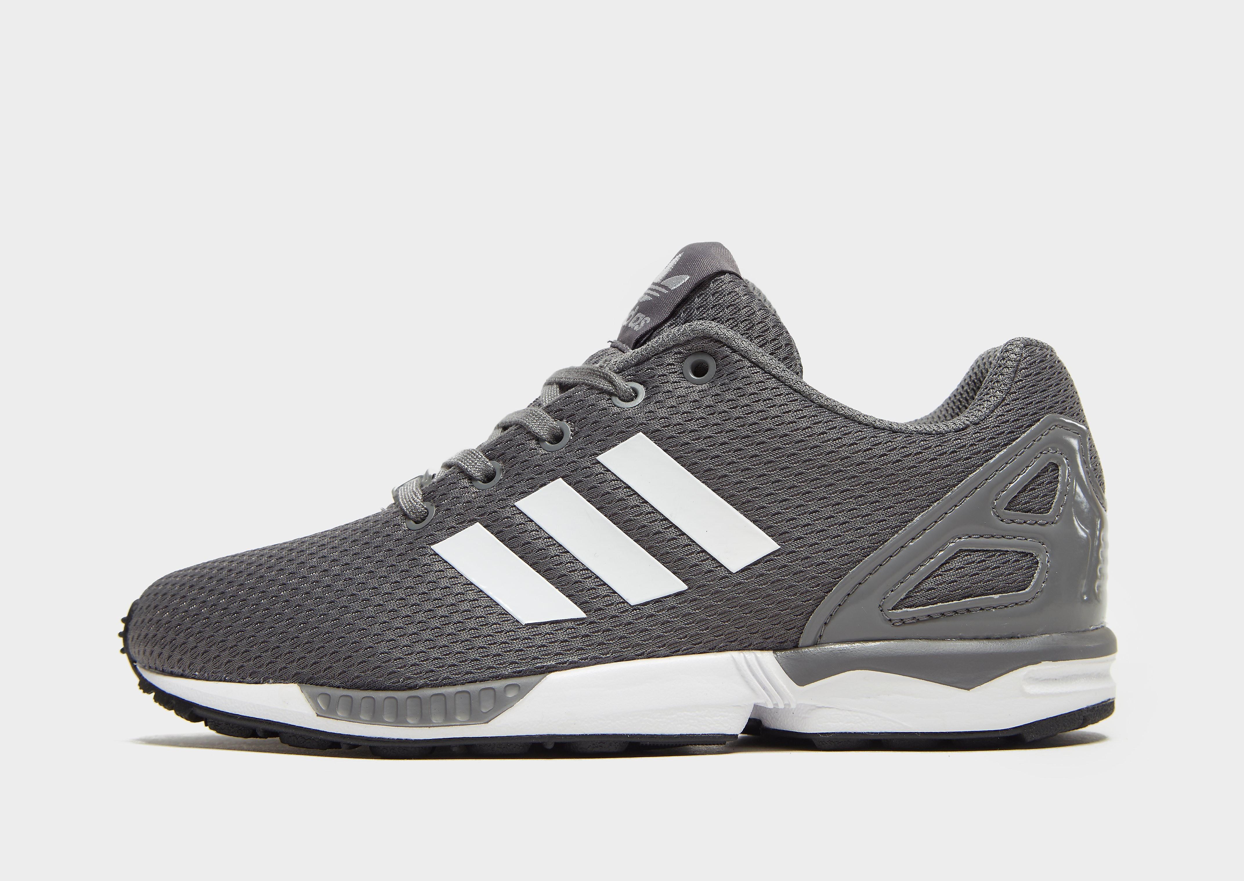 Adidas ZX Flux kindersneaker grijs en zwart