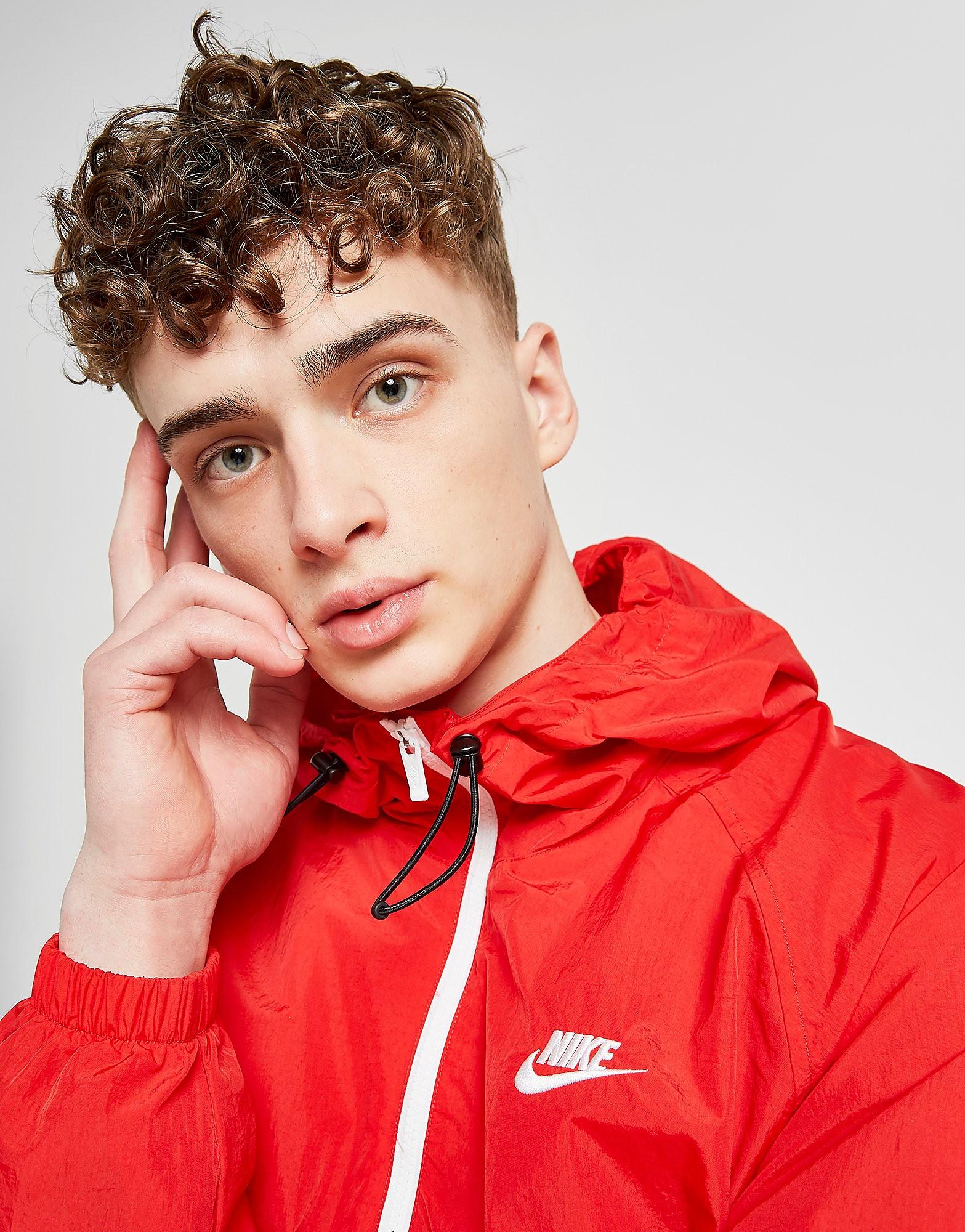 Nike Foundation 1/2 Zip Jacket Heren - alleen bij JD - Rood - Heren