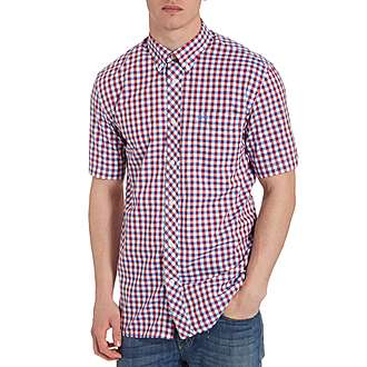 Fred Perry 3 Colour Gingham Shirt