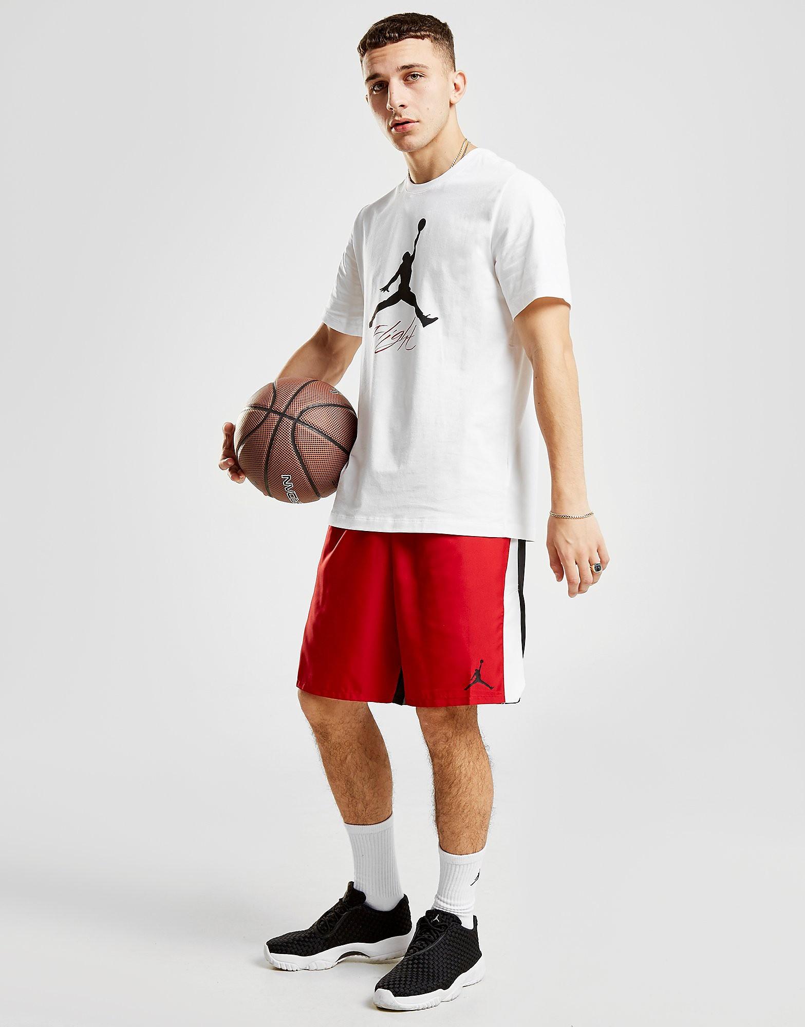 Jordan Hybrid Dri-FIT Shorts Heren - Zwart - Heren