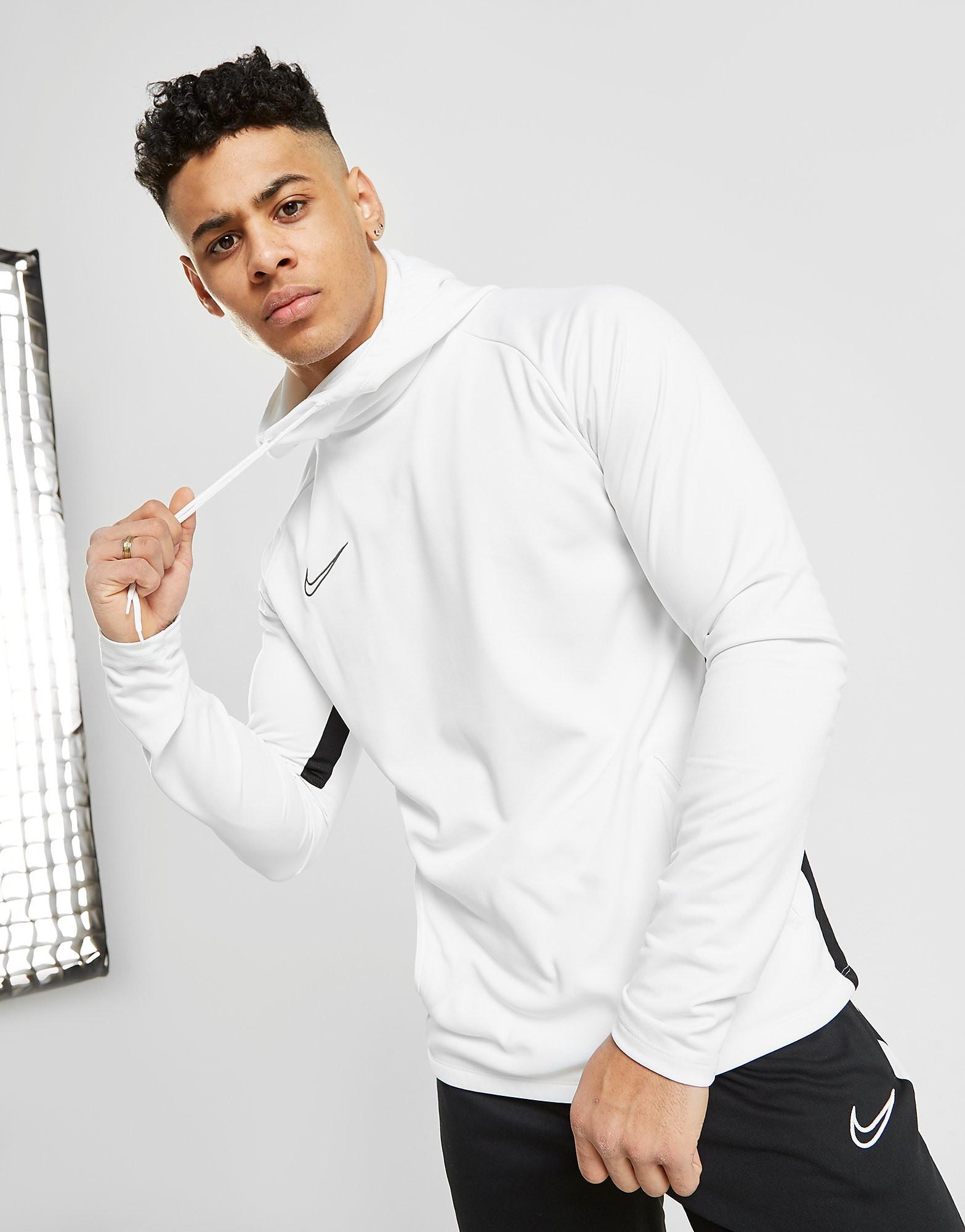 Nike Academy Hoodie Heren - alleen bij JD - Wit - Heren