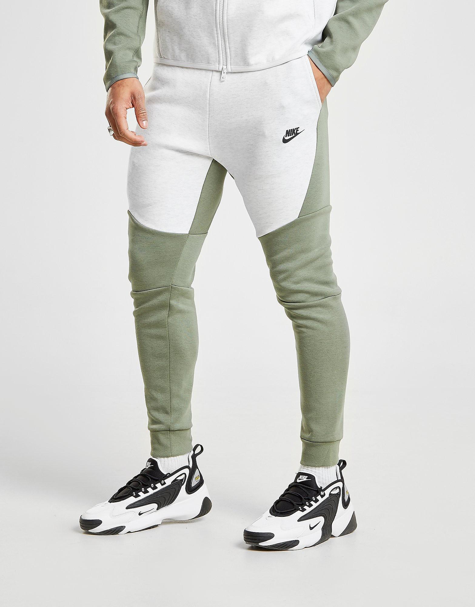 aad848ab6a9 nike Nike Tech Fleece Joggers Heren Groen nike kopen in de aanbieding