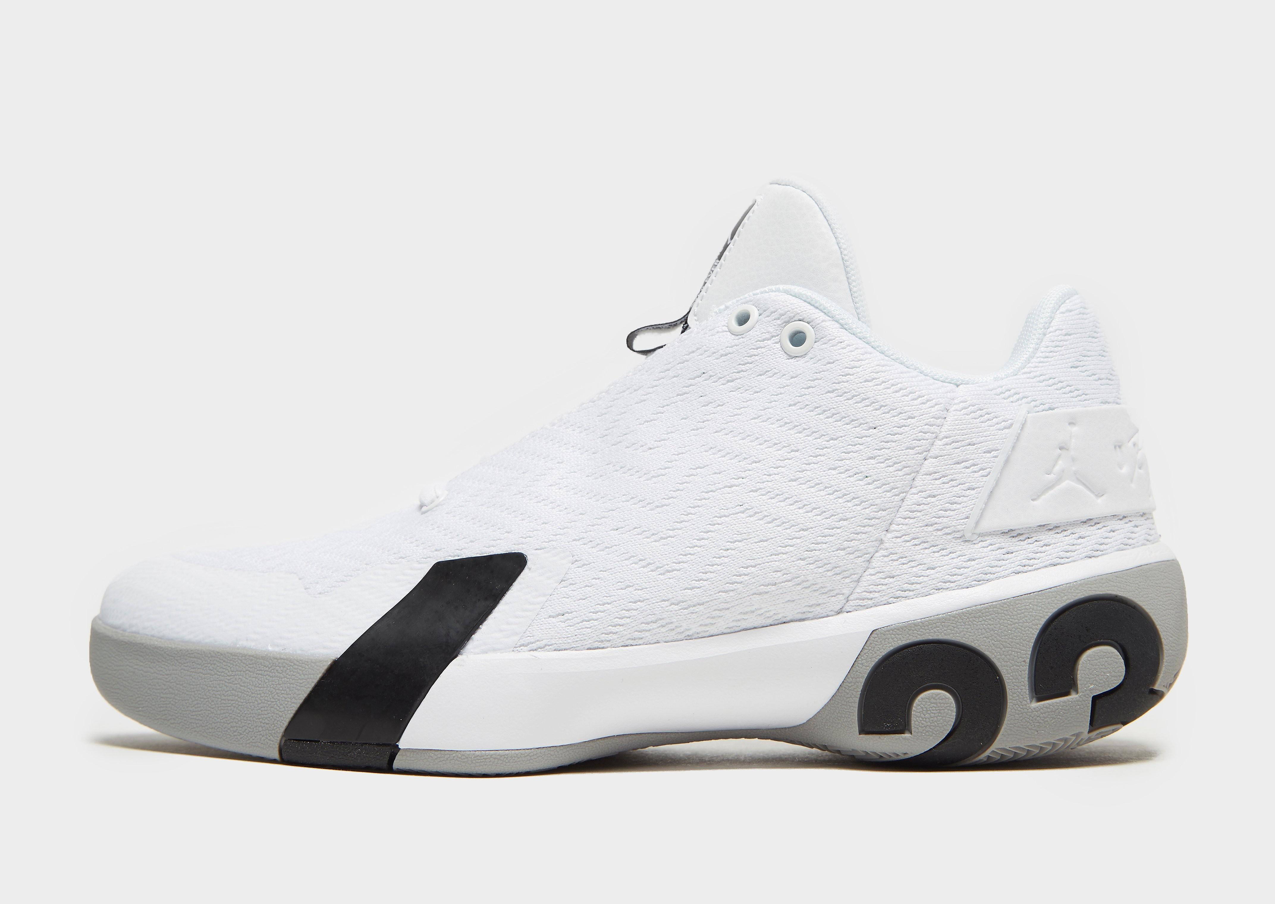 Jordan herensneaker wit, multicolor en zwart