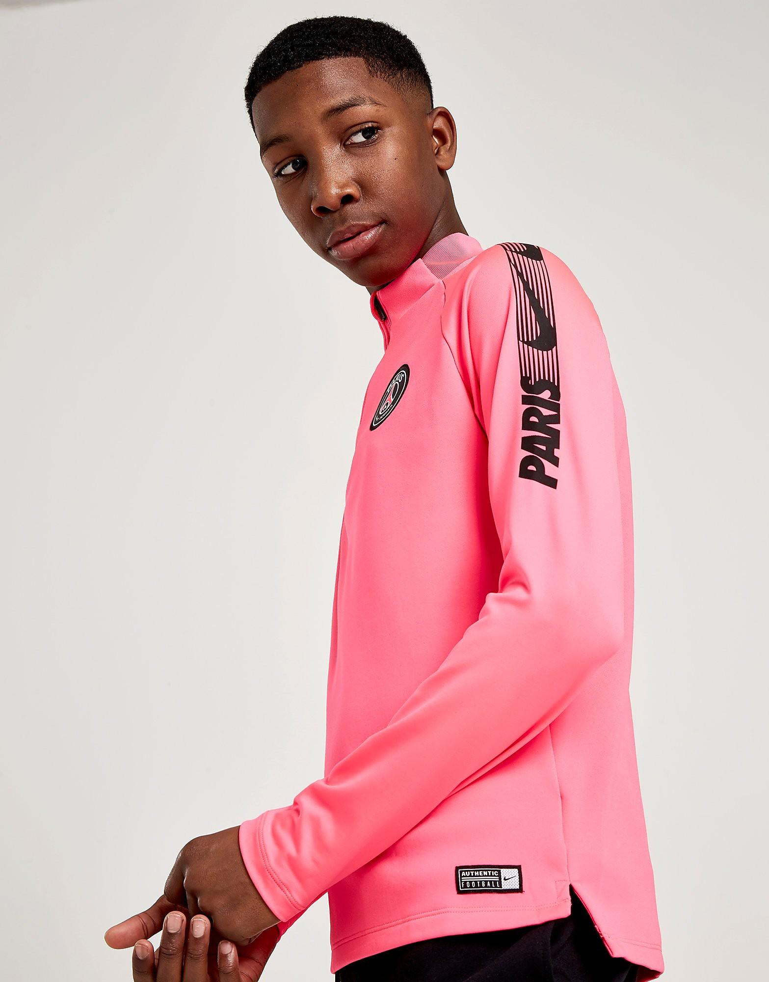Nike Paris Saint Germain Squad Drill Top Junior - Roze - Kind
