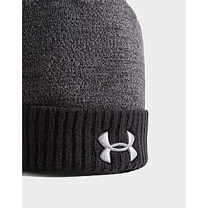 38153744fe1 ... Under Armour Logo Pom Beanie Hat