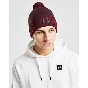 Under Armour Logo Pom Beanie Hat ... efa70ee0a7e9