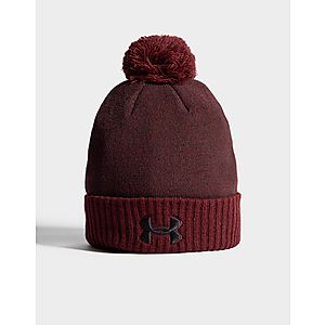 7d05f492245 Under Armour Logo Pom Beanie Hat Under Armour Logo Pom Beanie Hat