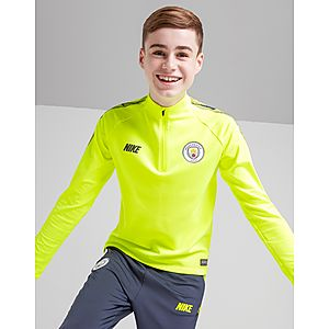 d6594b2c NIKE Manchester City FC Dri-FIT Squad Drill Older Kids' Long-Sleeve  Football ...