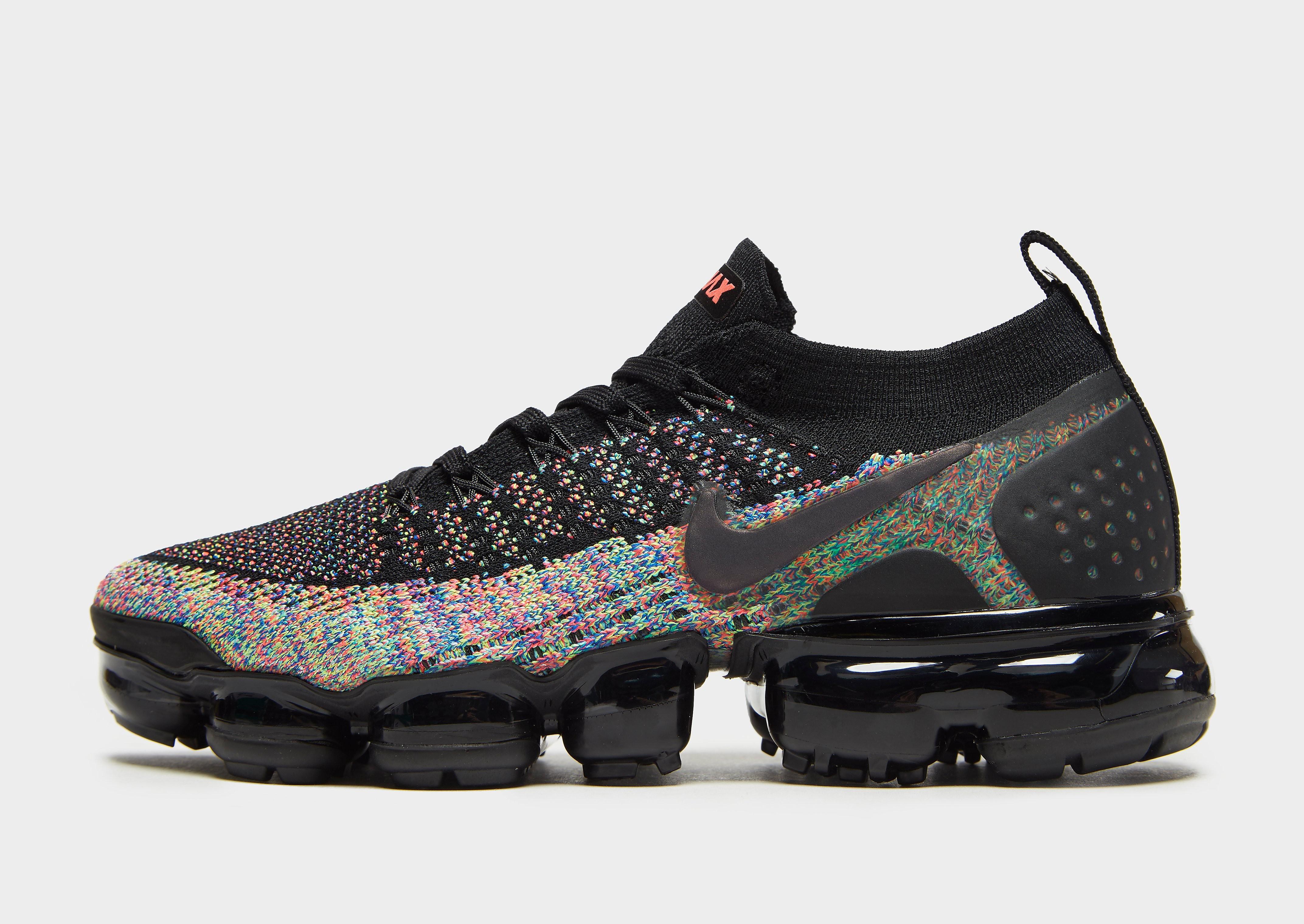 Nike Air VaporMax damessneaker zwart en multicolor