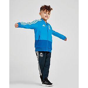 adidas Real Madrid Presentation Tracksuit Children ... 14fb220c2