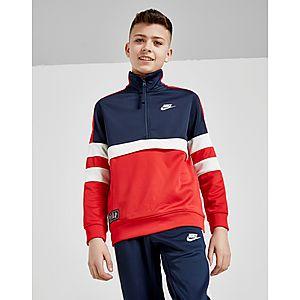 cb5453f09199 ... Nike Air 1 4 Zip Tracksuit Junior