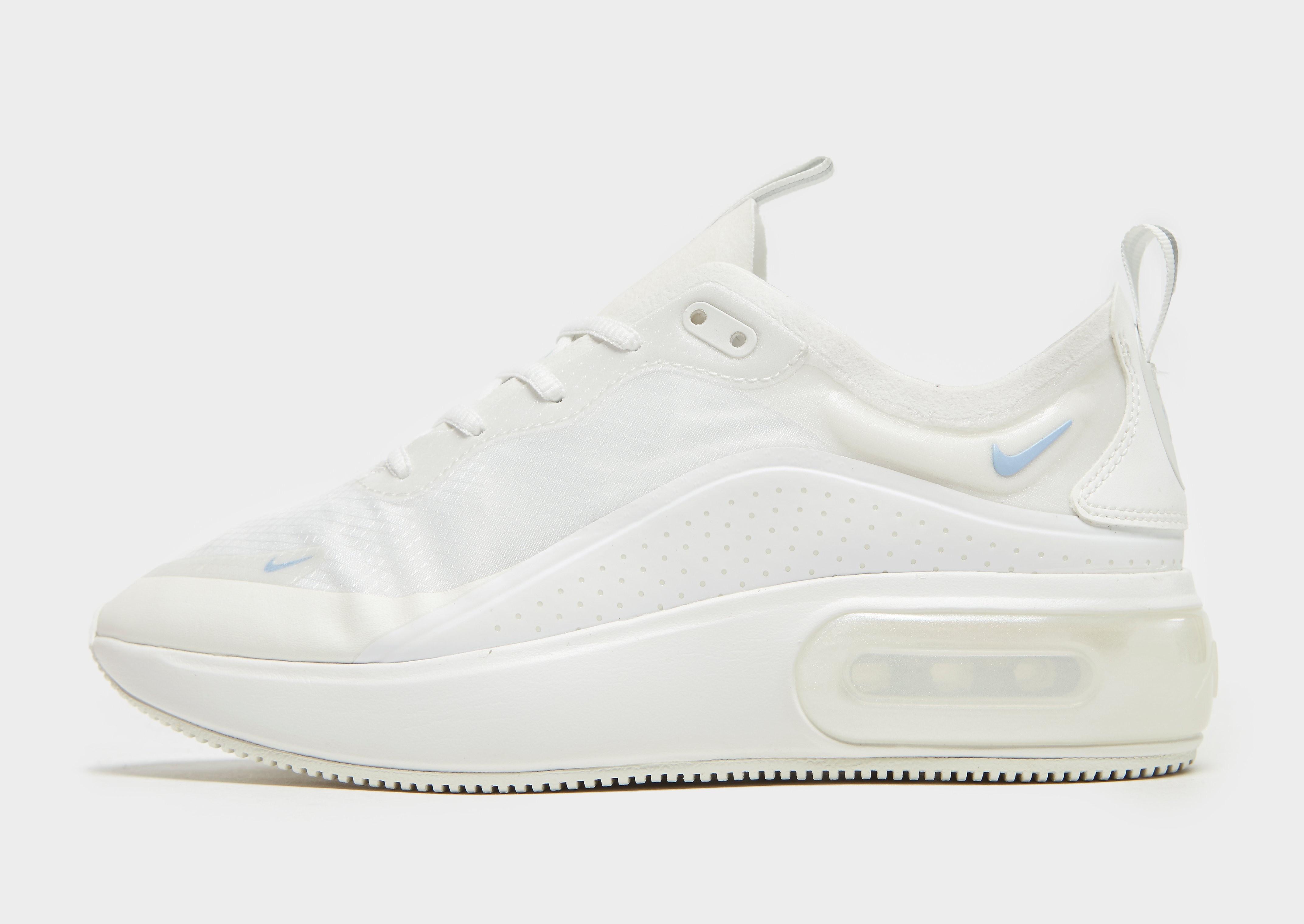 Nike Air Max Dia damessneaker wit en zwart