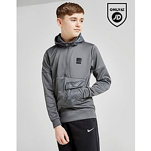 5f81a1348aee Nike Air Max Poly 1 2 Zip Hoodie Junior ...