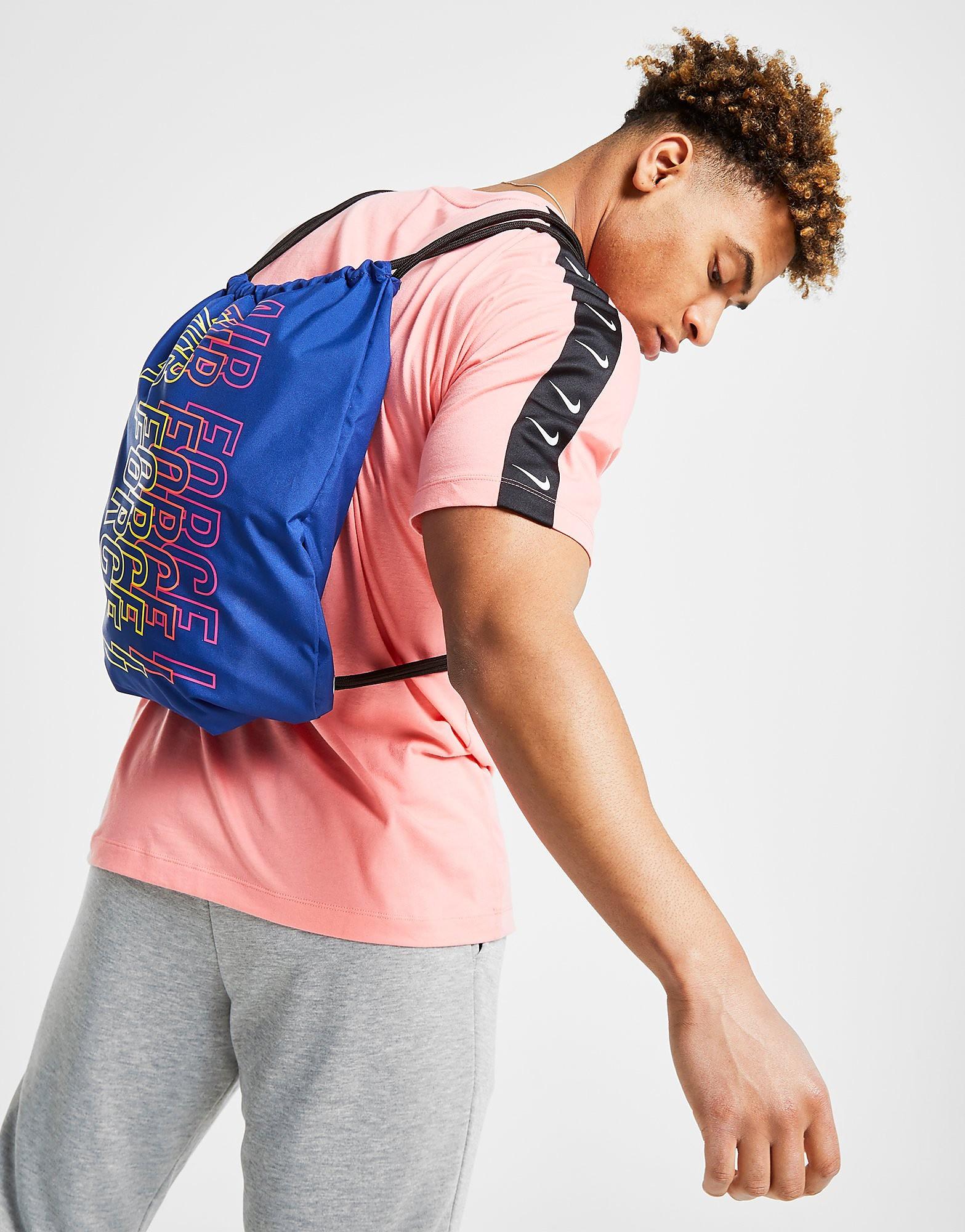 Nike gymtas multicolor en blauw