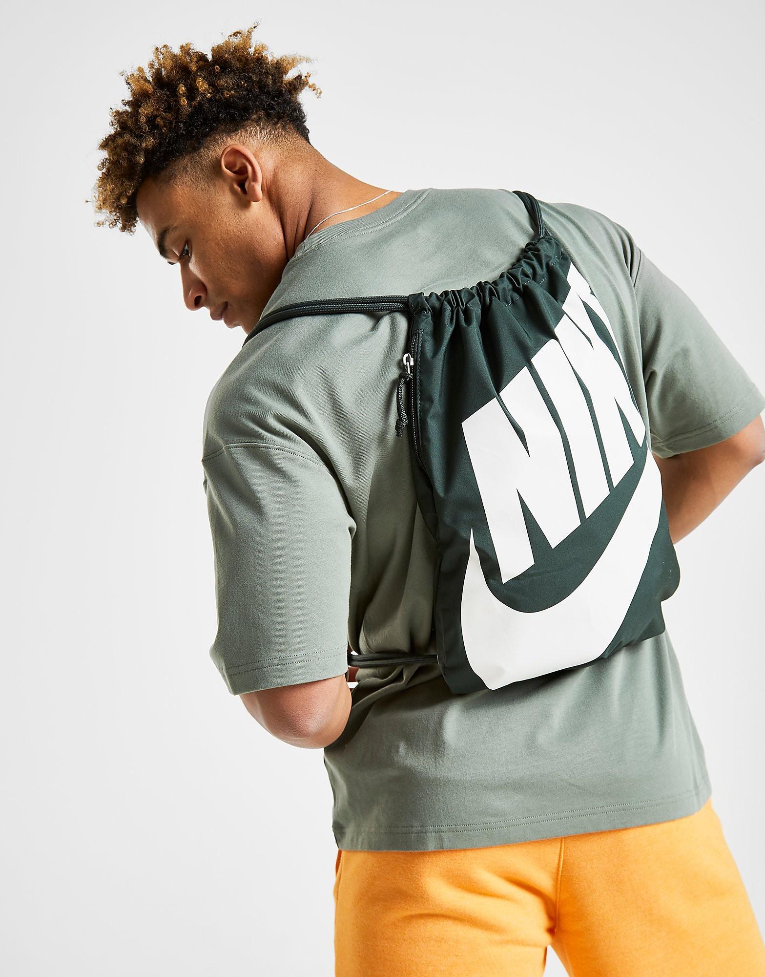Nike gymtas groen en wit