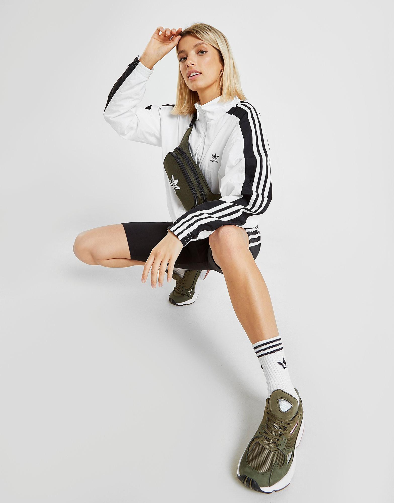 Adidas heuptas groen, khaki en wit