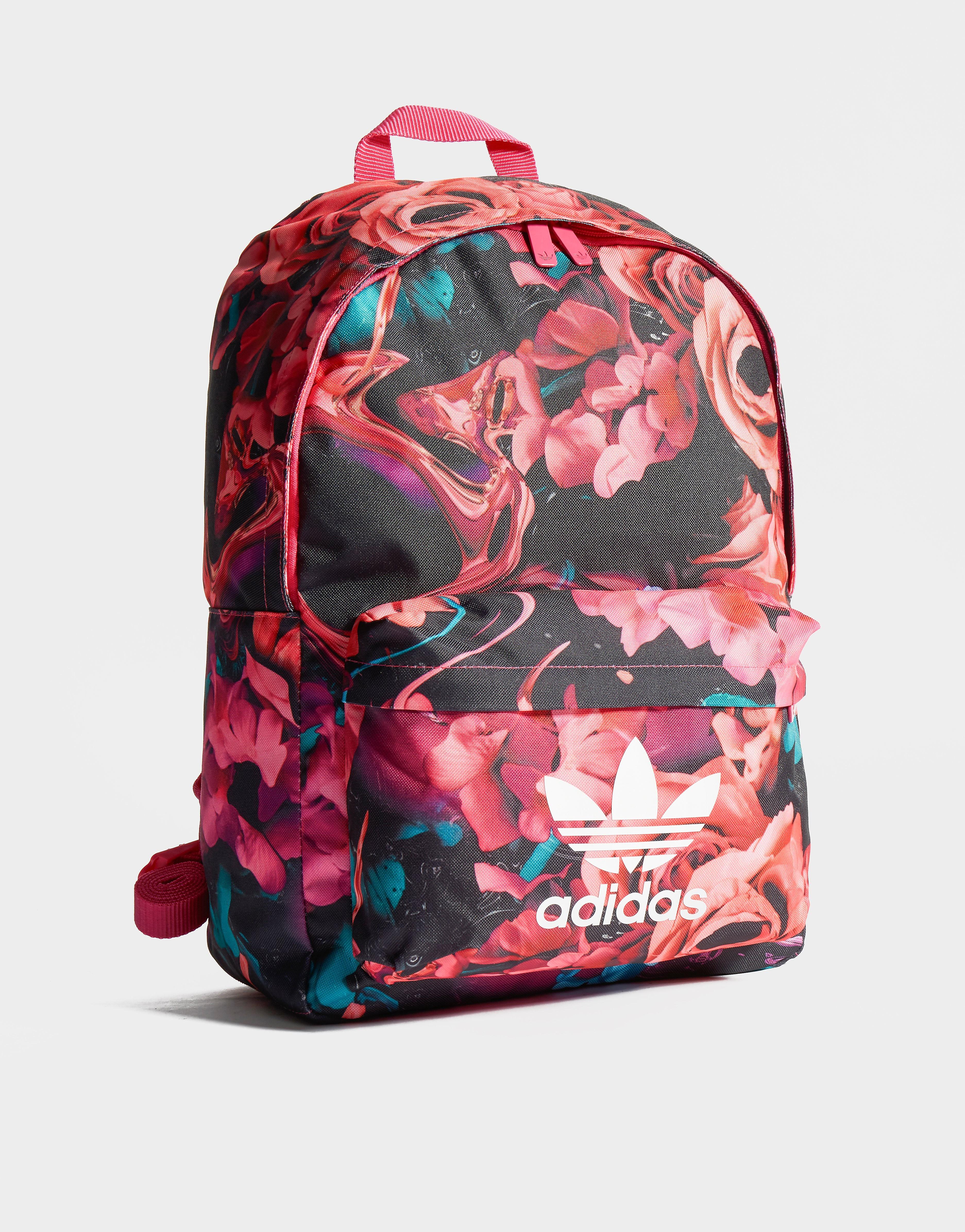 Adidas rugzak zwart en roze