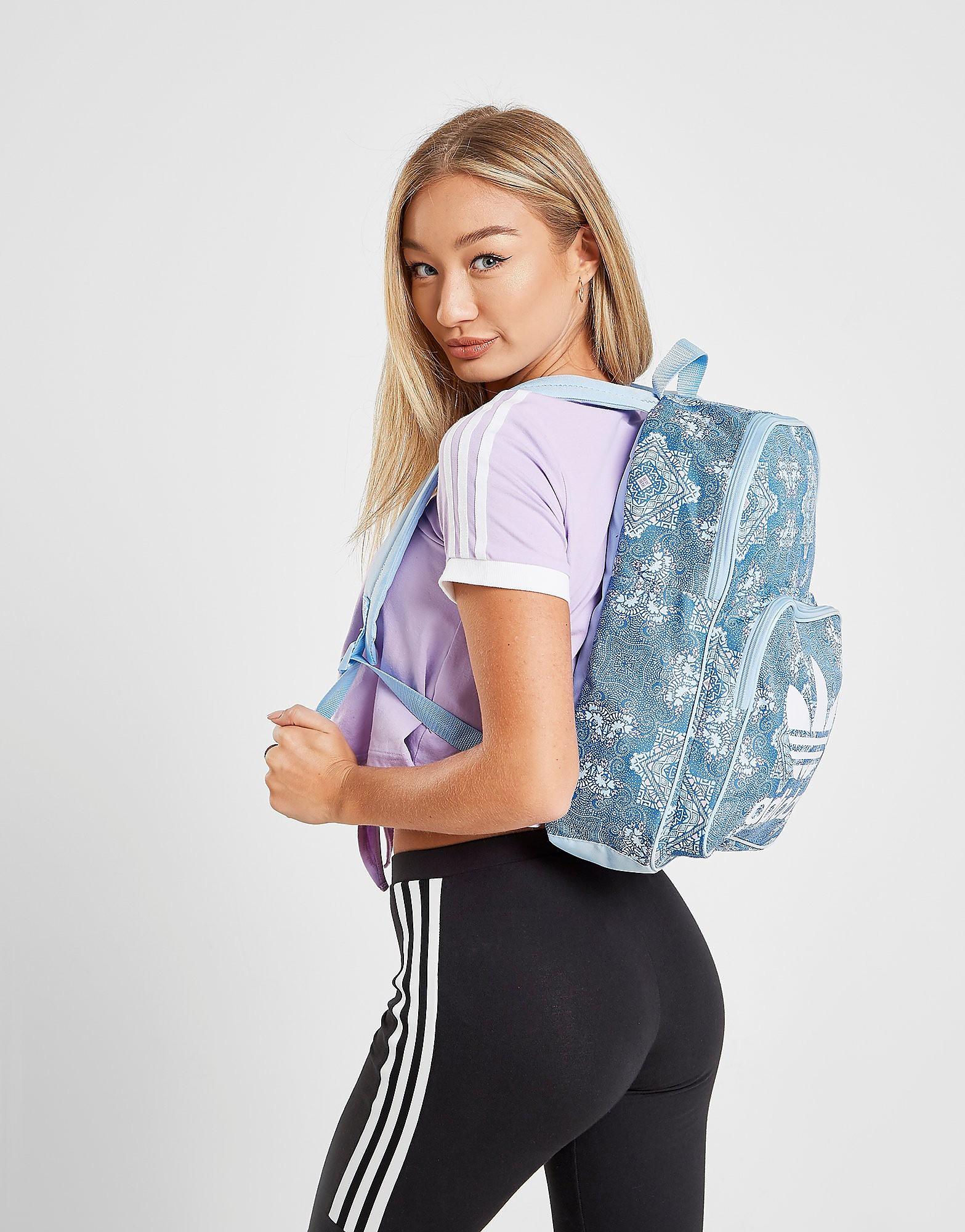 Adidas rugzak blauw