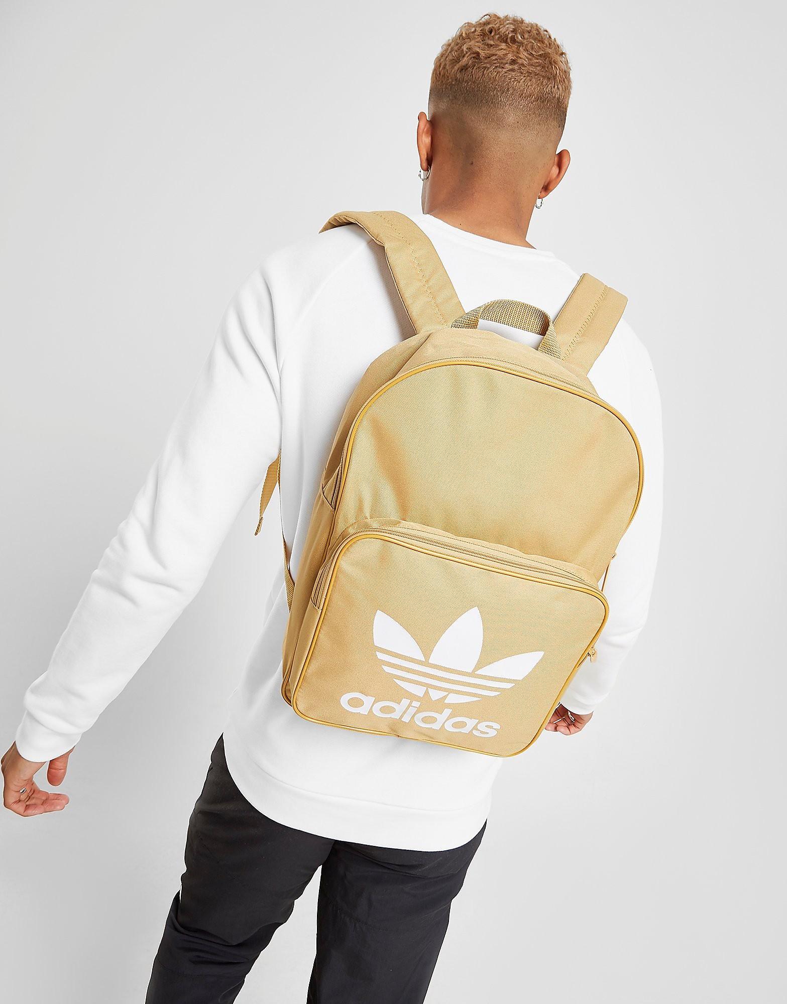Adidas rugzak geel