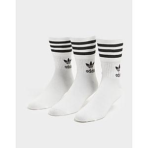 0167f162e2 adidas Originals 3 Pack Solid Crew Socks ...