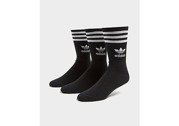 adidas Originals calcetines  3 Pack Solid Crew, White