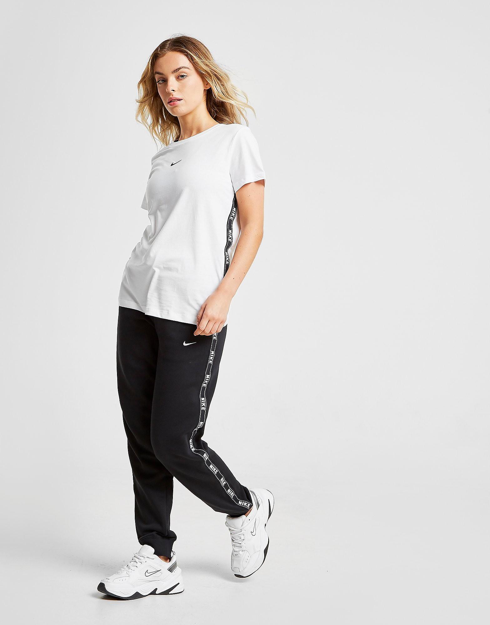Nike Tape Fleece Joggers Dames - alleen bij JD - Zwart - Dames