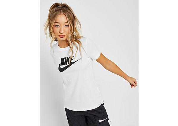 Ropa deportiva Mujer Nike Essential Futura Short Sleeve T-Shirt, Black