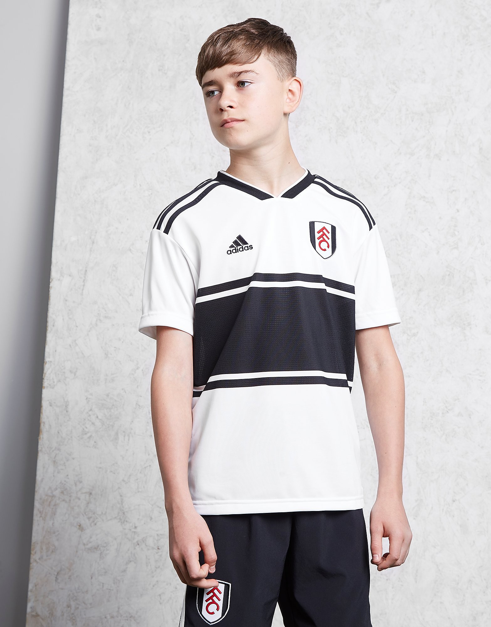 adidas Fulham FC 2018/19 Home Shirt Junior - Wit - Kind