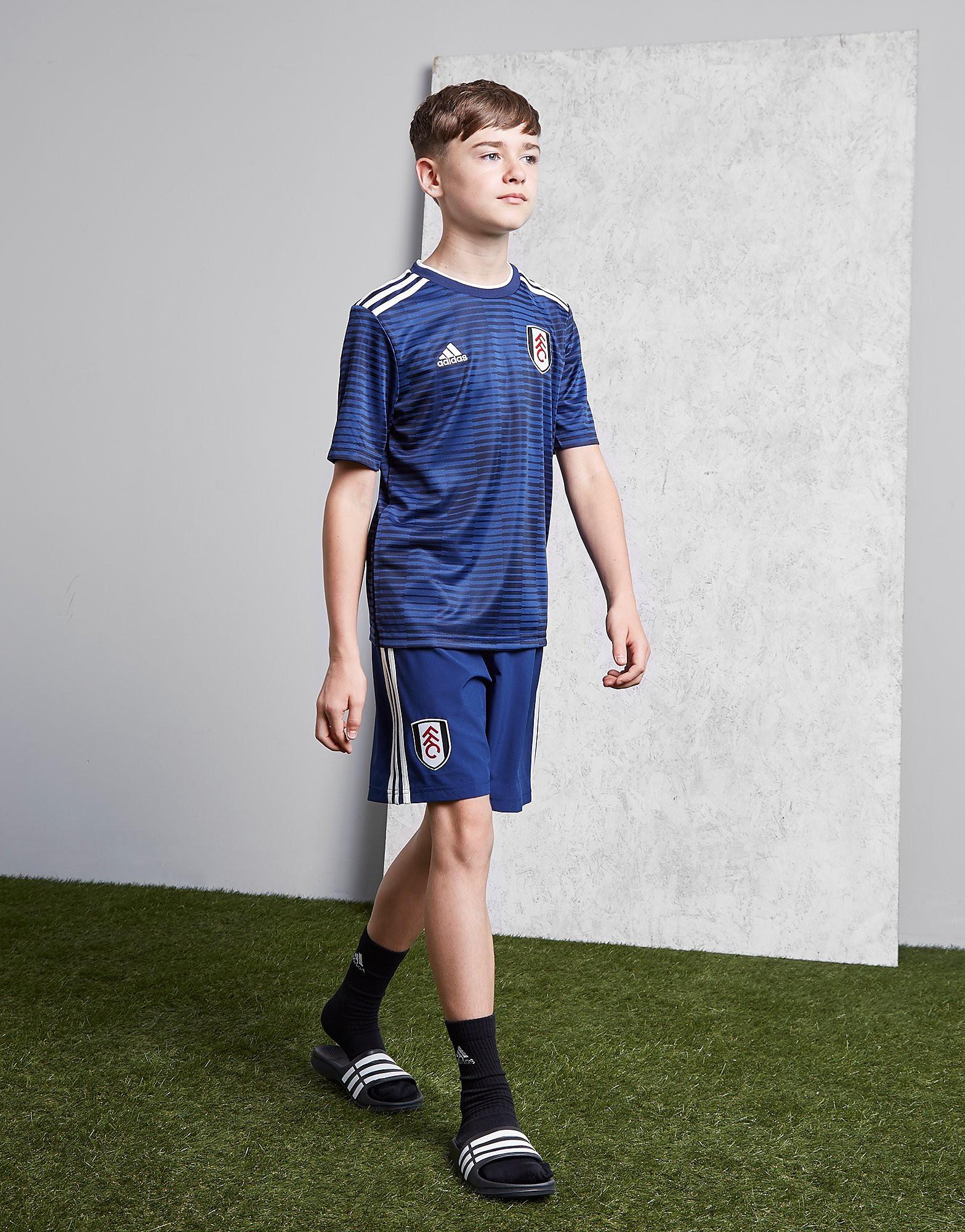 adidas Fulham FC 2018/19 Away Shorts Junior - Blauw - Kind