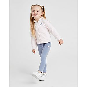 32dab9531f04 ... Nike Girls  Air Full Zip Hoodie Leggings Set Infant