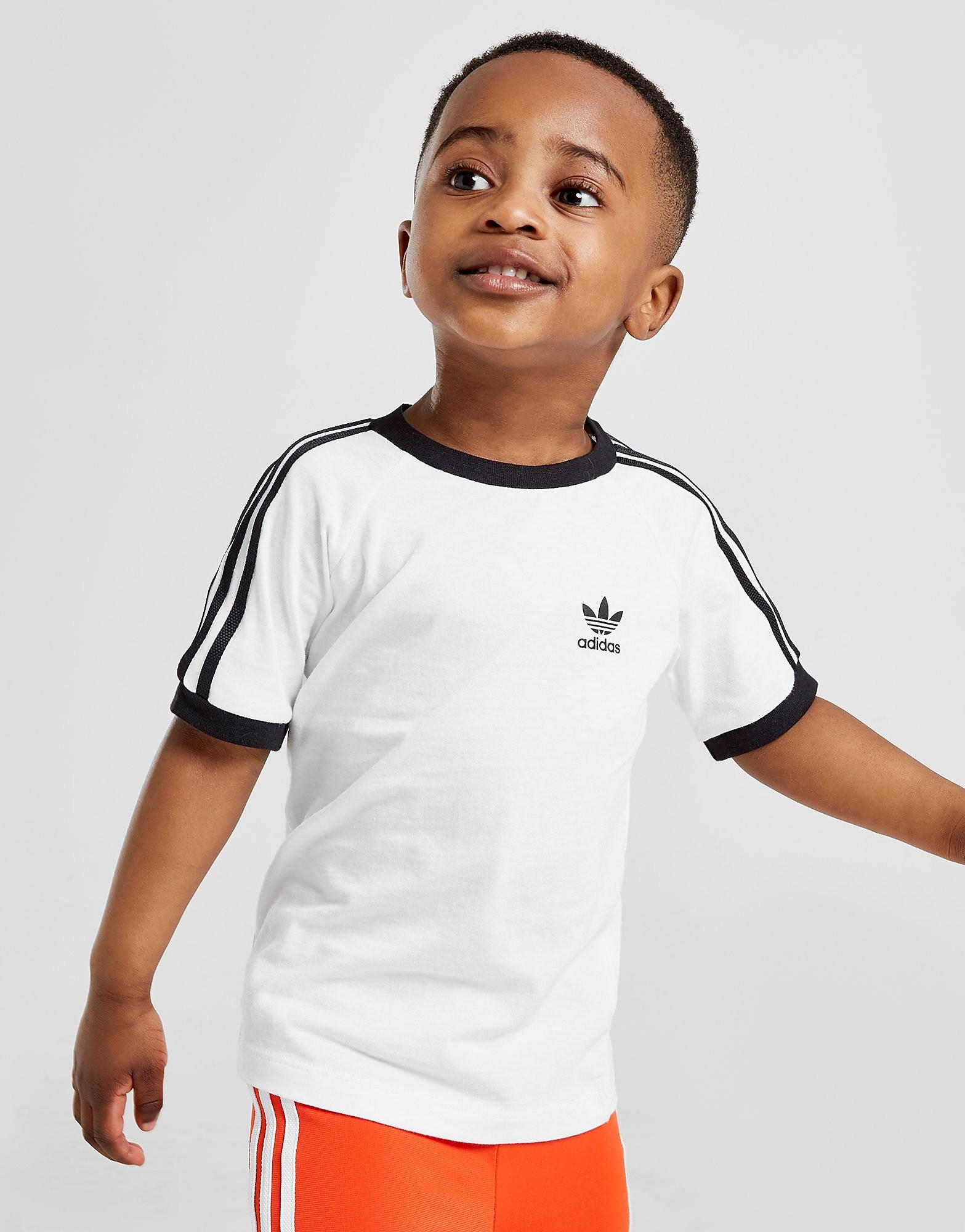 adidas Originals California T-Shirt Infant - Wit - Kind