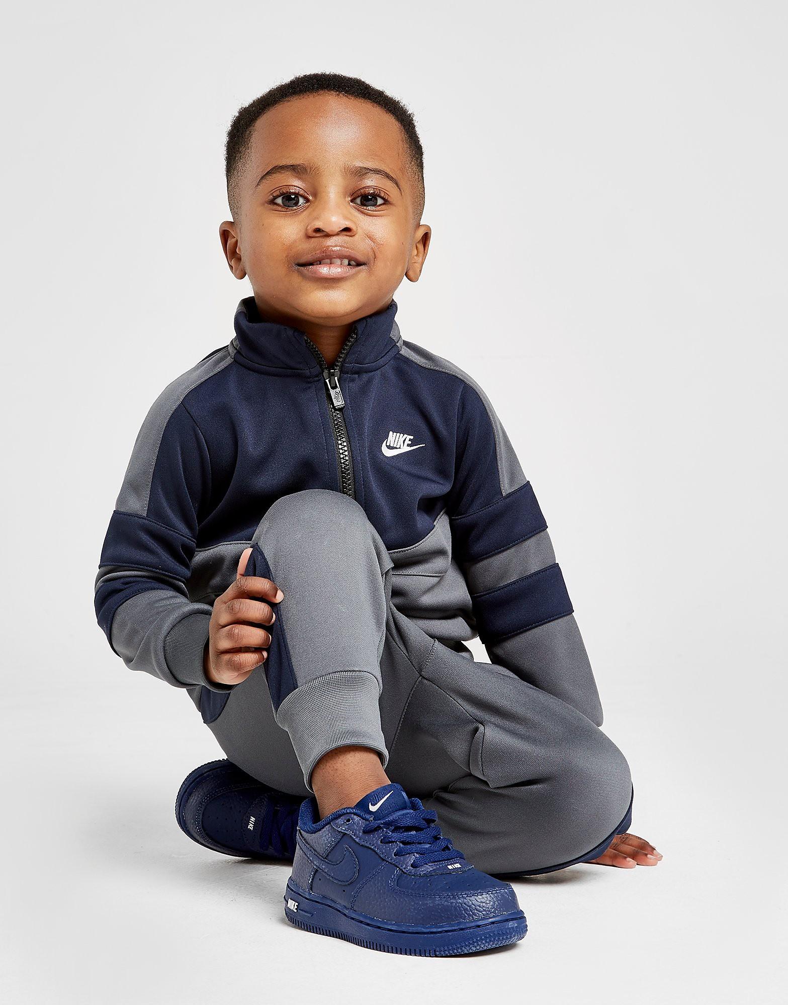 Nike Air 1/4 Zip Tracksuit Baby's - alleen bij JD - Blauw - Kind