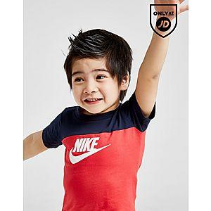 ... Nike Futura Colour Block T-Shirt Shorts Set Infant a92a52abe