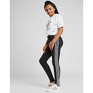 ea7fe3c083bf ... adidas Originals Girls  Trefoil 3-Stripes Leggings Junior