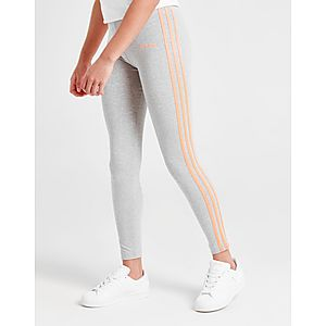 0346baed906 adidas Originals Girls  Poly Linear Leggings Junior ...