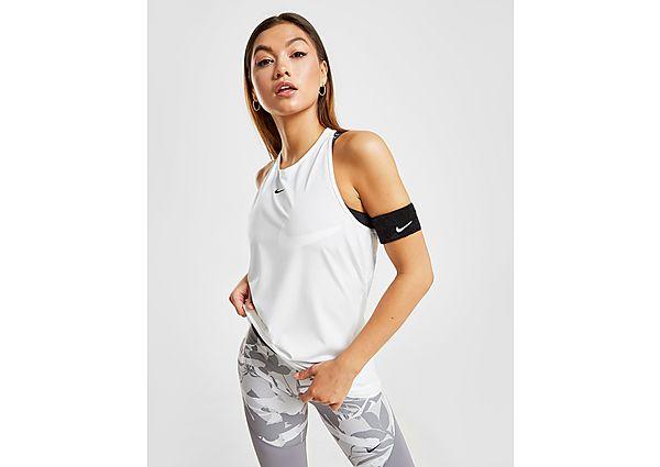 Ropa deportiva Mujer Nike camiseta de tirantes Training Pro, Black