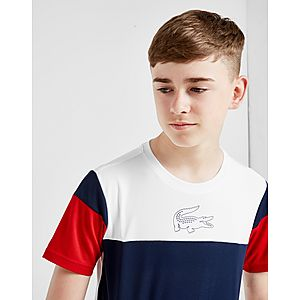 f8fc6374 Lacoste Colour Block Poly T-Shirt Junior ...