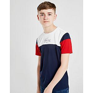 50e024cc9 ... Lacoste Colour Block Poly T-Shirt Junior