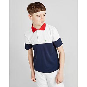d913a6db7041cd Lacoste Colour Block Polo Shirt Junior Lacoste Colour Block Polo Shirt  Junior