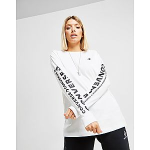 ... Converse Star Chevron Long Sleeve Boyfriend T-Shirt d36e31cf5a