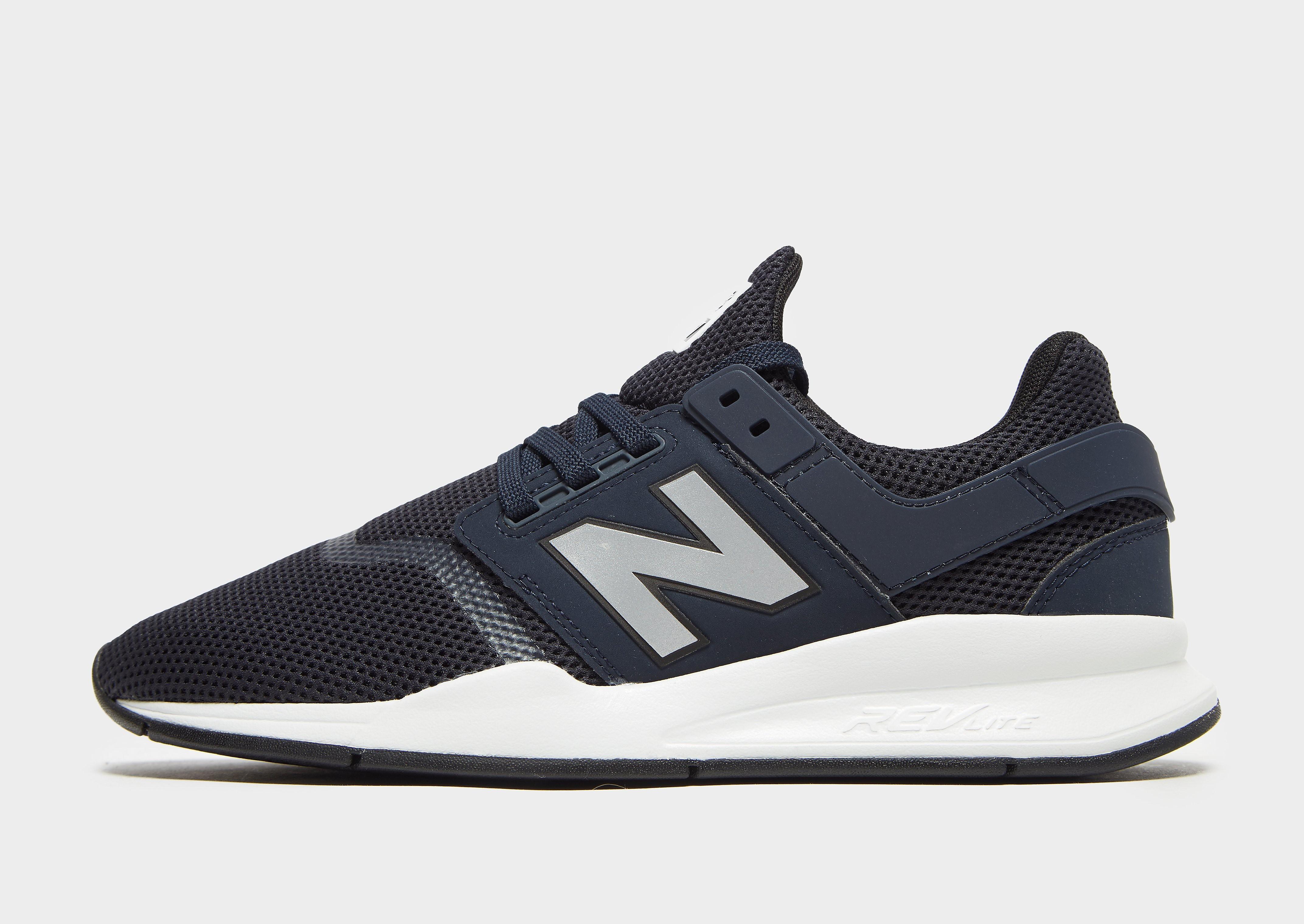 New Balance 247 herensneaker blauw en wit