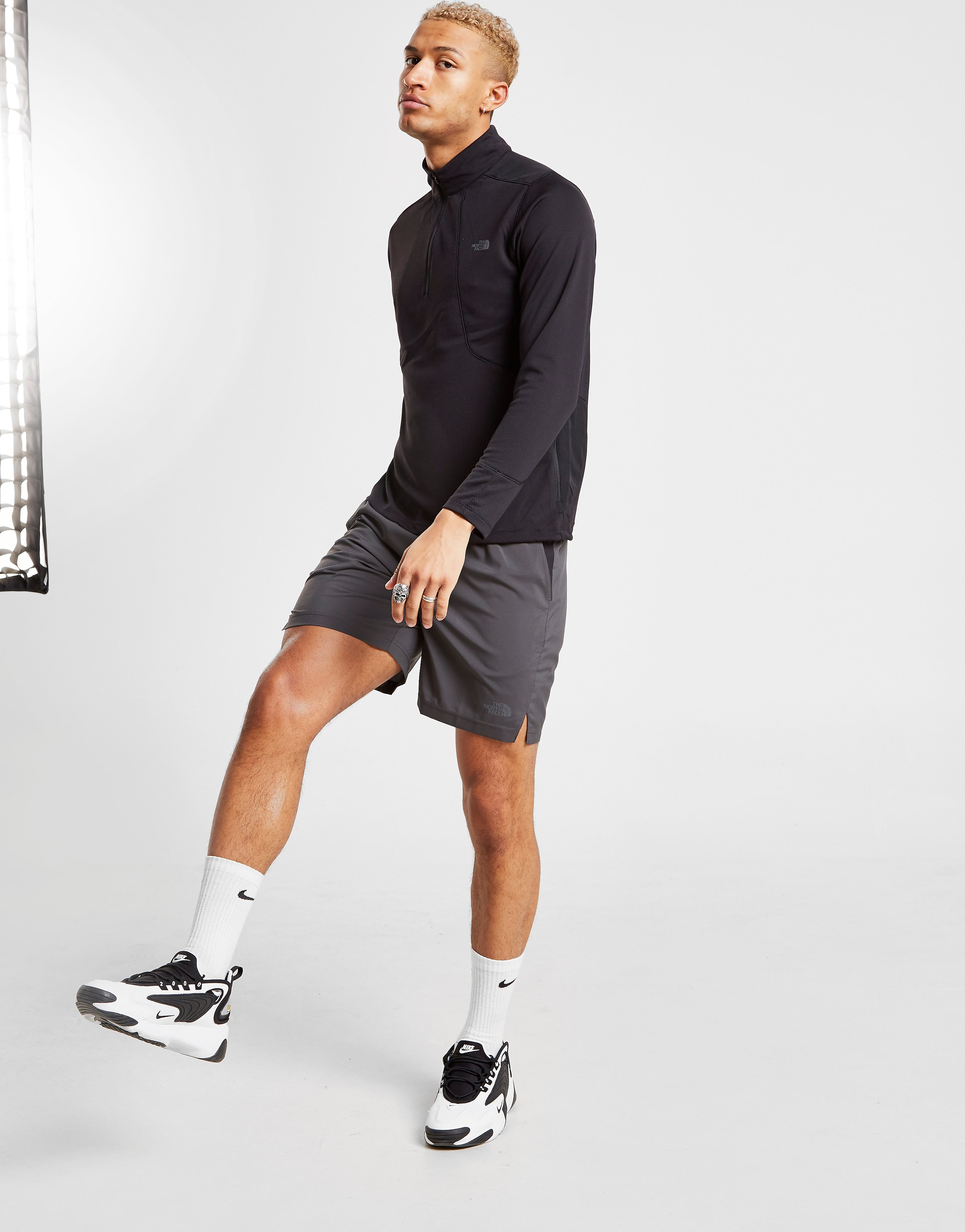 The North Face Reactor 24/7 Shorts - Grijs - Heren