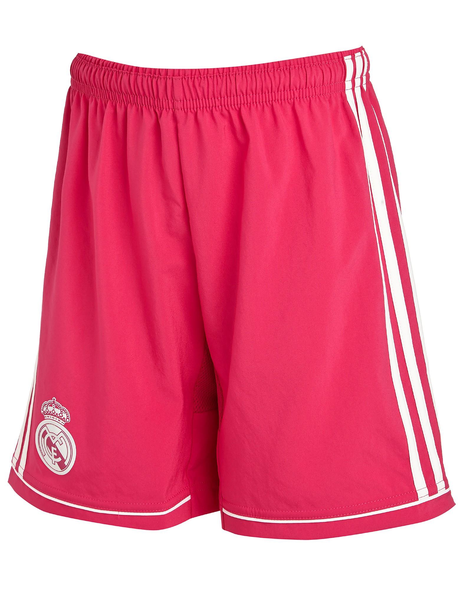 adidas Real Madrid 2014 Junior Away Shorts