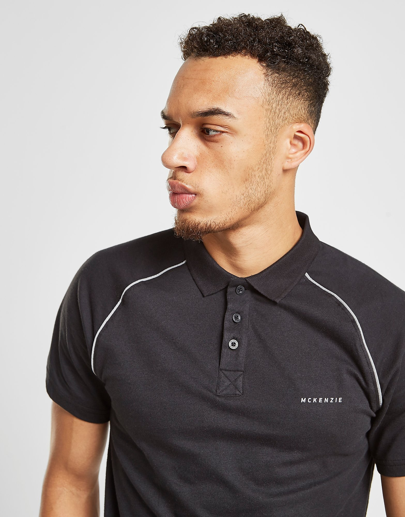 McKenzie Tide Polo Shirt - alleen bij JD - Zwart - Heren